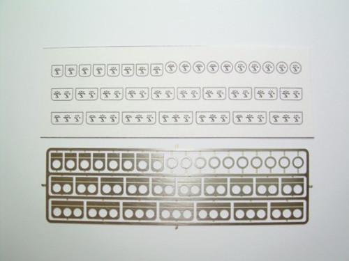 Under-Dash Gauges, White 1/25