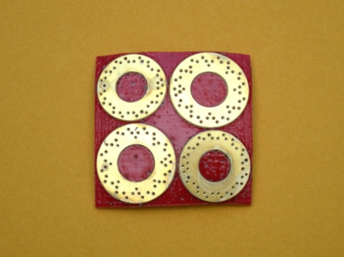 Drilled Rotor 4-Piece Set 1/16