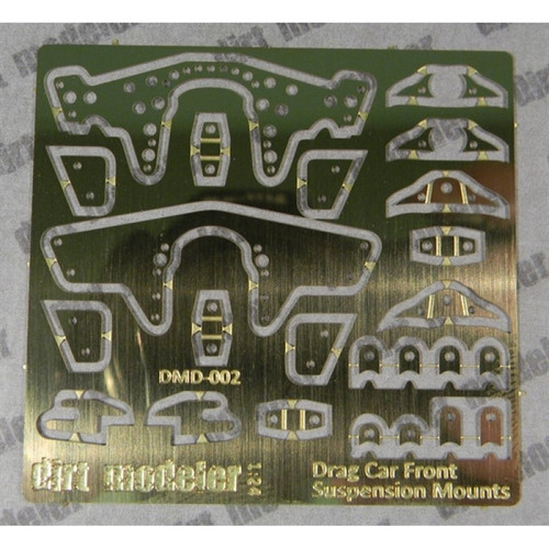 Front Suspension & Engine Mount Kit, Brass 1/25