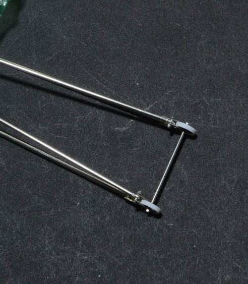 Wheelie Bar-Double & Wheel Assembly 1/24