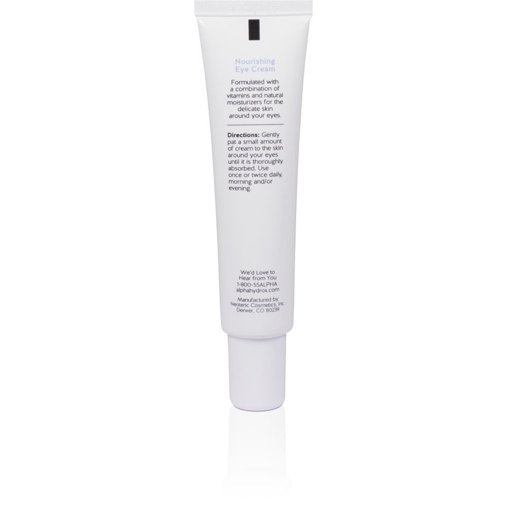 Product Shot Back Alpha Skin Care Nourishing Eye Cream