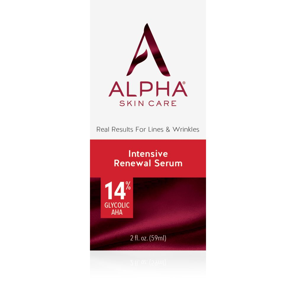 Box Shot Front Alpha Skin Care Intensive Renewal Serum
