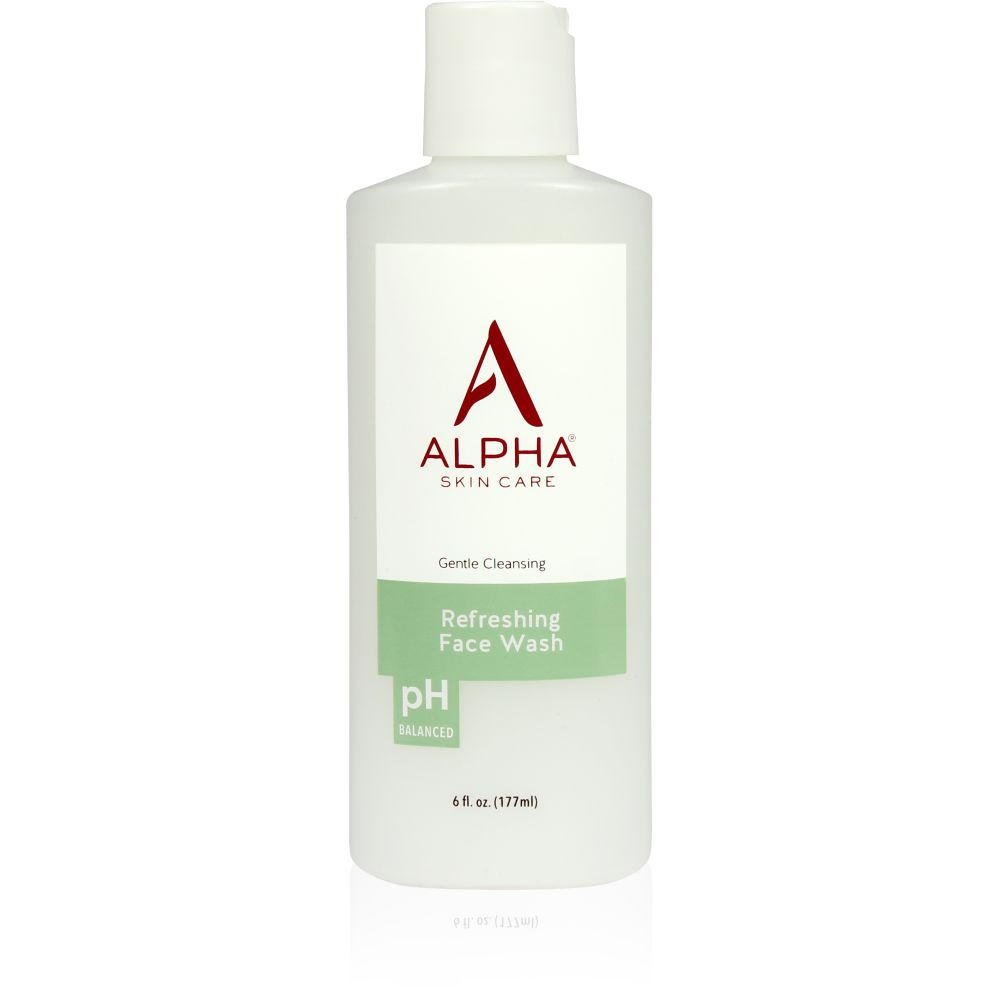 Primary Product Shot Alpha Skin Care Refreshing Face Wash