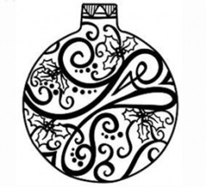 Sue Wilson Stamps To Die For - HOLLY BAUBLE UMS532 - 10% Off FREE POSTAGE Pre-Order