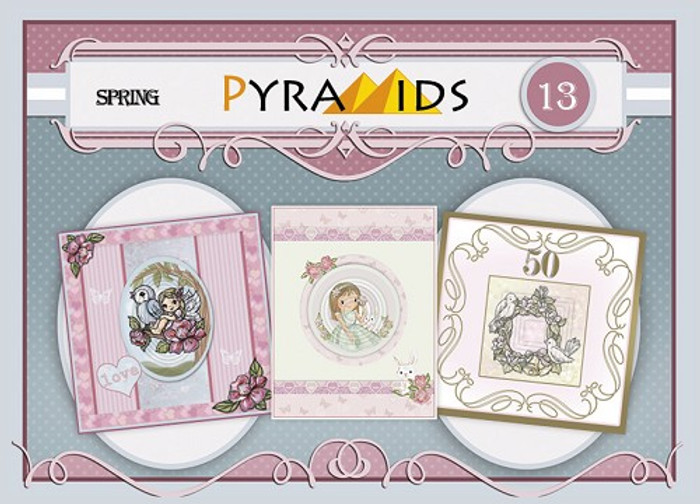 3D Pyramids Booklet - Spring