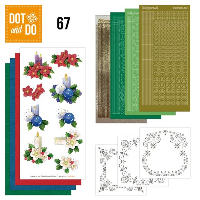 Dot and Do Kit #67 - Christmas Candles