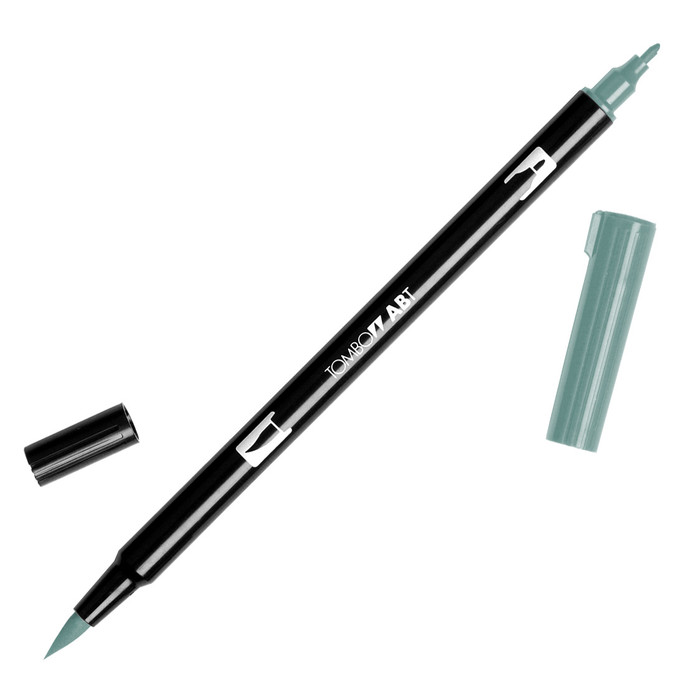 Tombow Dual Brush Marker - Holly Green 312
