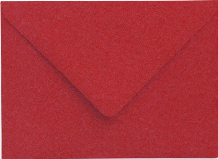 A7 Envelopes -  130mm x 185mm - Premium RUBY 20Pk 120gsm