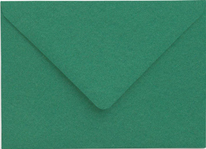 C6 Envelopes -  114mm x 162mm - Premium EMERALD 20Pk 120gsm