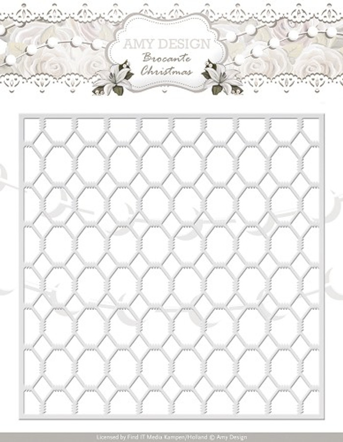 Amy Design - Brocante Christmas Die - Wire Frame  AD10031