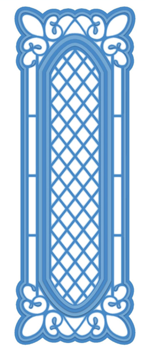 Sue Wilson - Striplets Collection - Lattice Window Die CED1615 - Pre-Order 15% Off