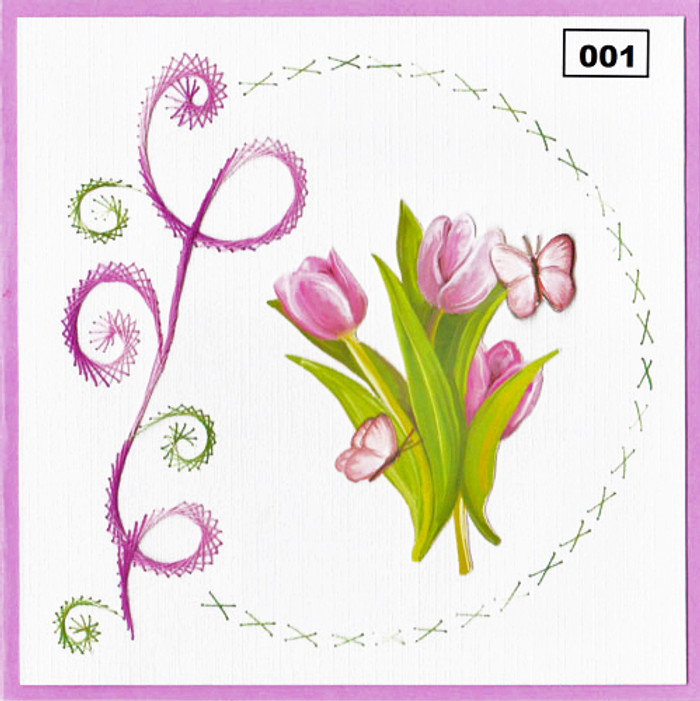 Dalara Creative Card Stitching e-Pattern - DC001e