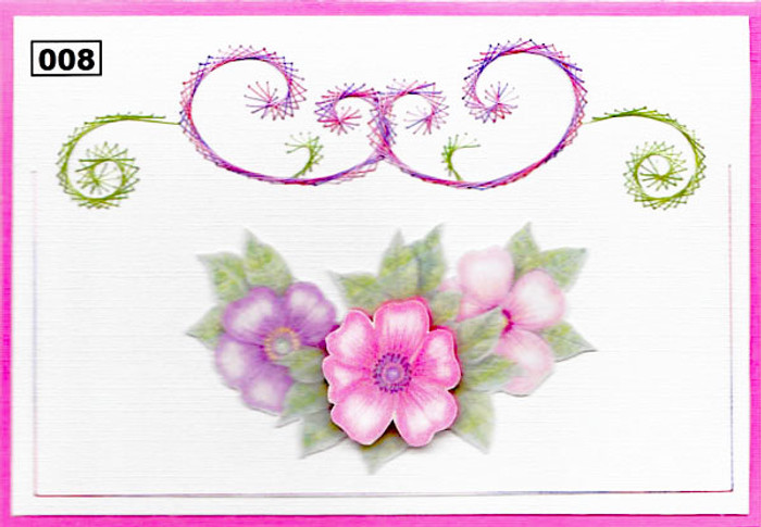 Dalara Creative Card Stitching e-Pattern - DC008e