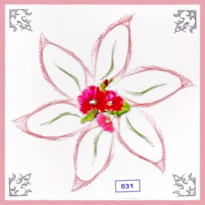 Dalara Creative Card Stitching e-Pattern - DC031e
