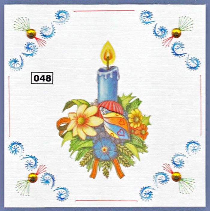 Dalara Creative Card Stitching e-Pattern - DC048e
