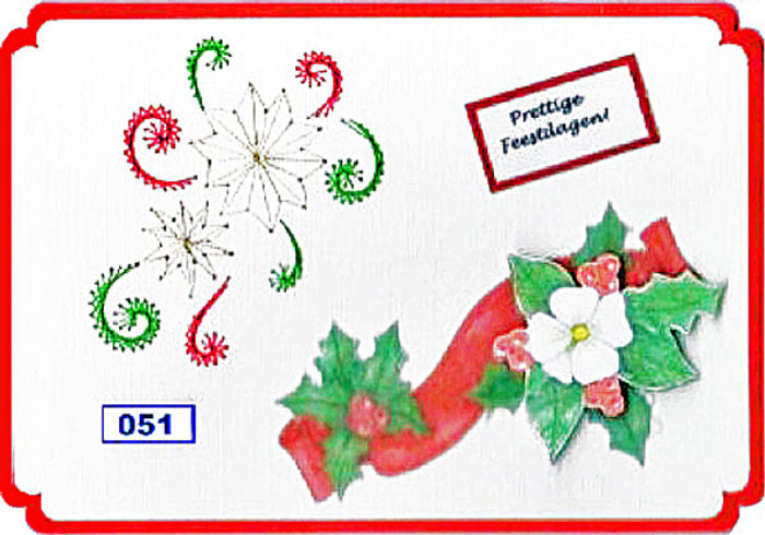 Dalara Creative Card Stitching e-Pattern - DC051e