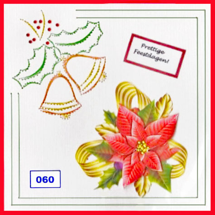 Dalara Creative Card Stitching e-Pattern - DC060e