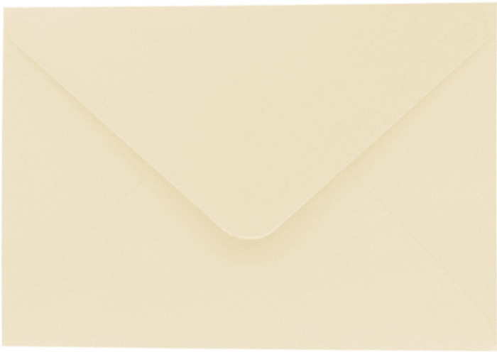 A7 Envelopes 130mm x 185mm - KNIGHT IVORY 20Pk