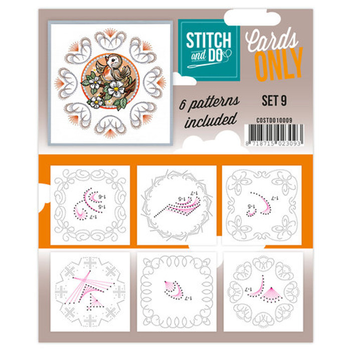 Stitch and Do Card Stitching Cardlayers Only - Set 9