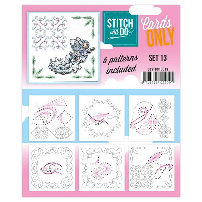 Stitch and Do Card Stitching Cardlayers Only - Set 13