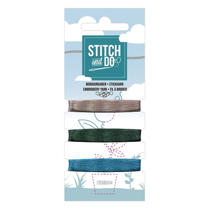 Stitch and Do Card Embroidery Thread Set 14 - 3 x 50m