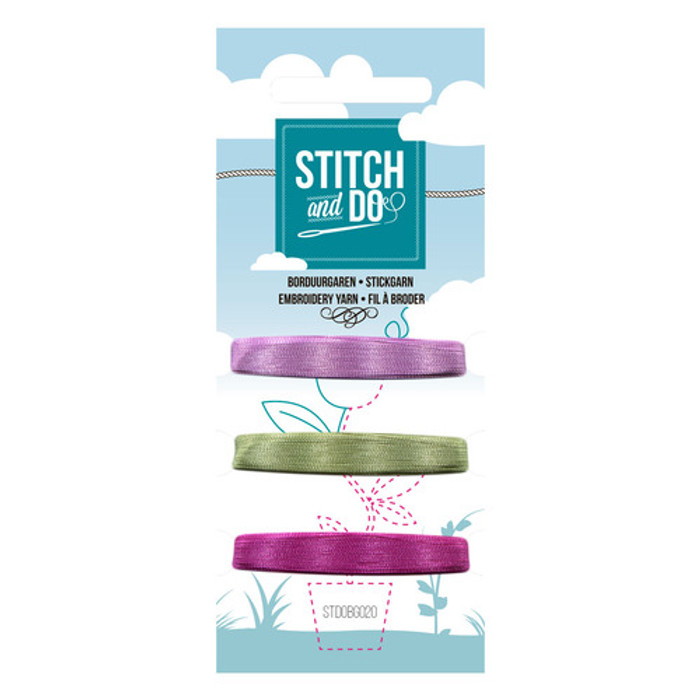 Stitch and Do Card Embroidery Thread Set 20 - 3 x 50m