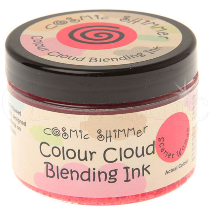 Cosmic Shimmer Colour Cloud Ink Scarlet Woman
