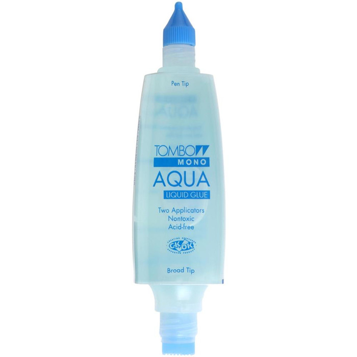 Tombow Mono Aqua Liquid Glue 50ml (1.69oz) - Acid Free, Dries Clear