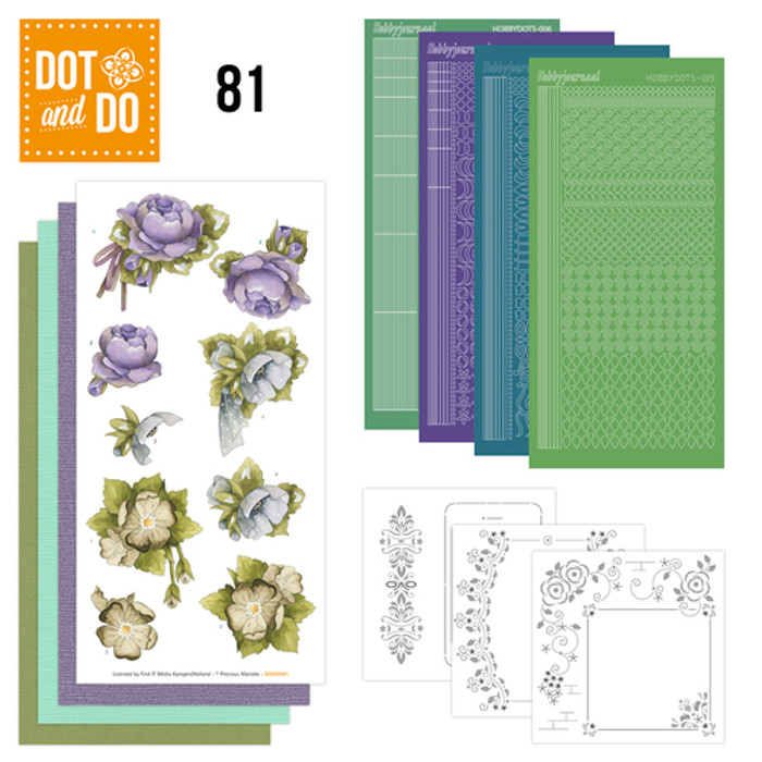 Dot and Do Kit #81 - Floral Corner