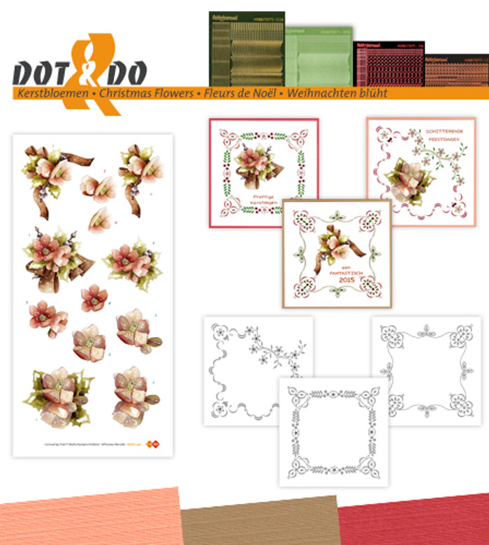 Dot and Do Kit #36 - Christmas Flowers