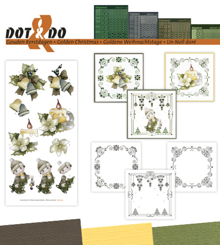 Dot and Do Kit #37 - Golden Christmas