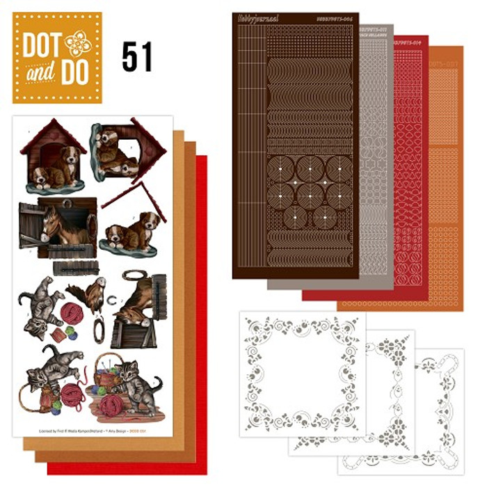 Dot and Do Kit #51 - Animals