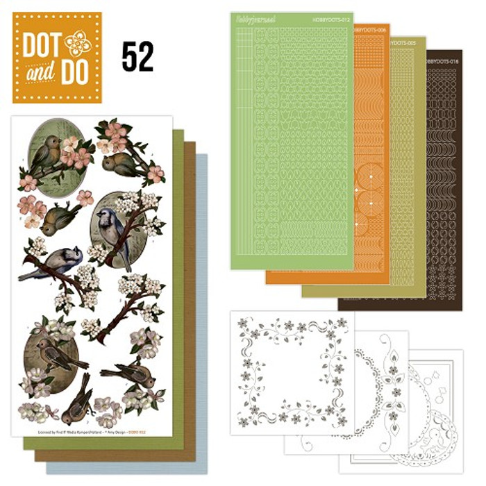 Dot and Do Kit #52 - Birds
