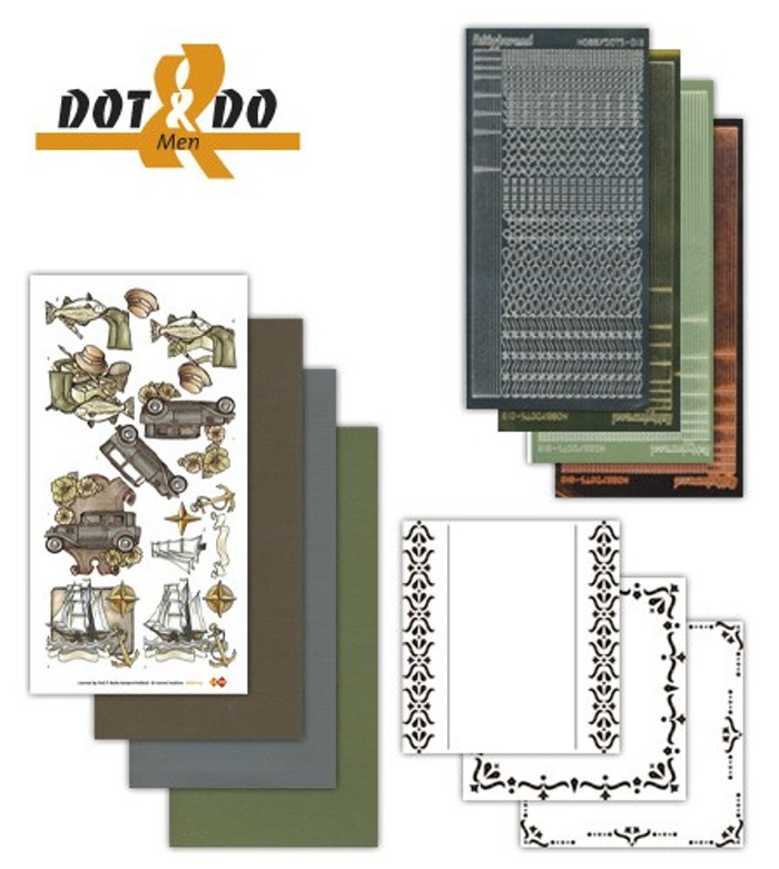 Dot and Do Kit #14 - Men