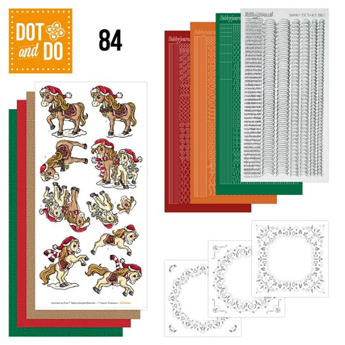 Dot and Do Kit #84 - Christmas Ponies