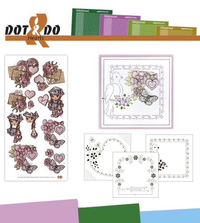 Dot and Do Kit - Hearts #15