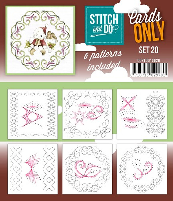 Stitch and Do Card Stitching Cardlayers Only - Set 20