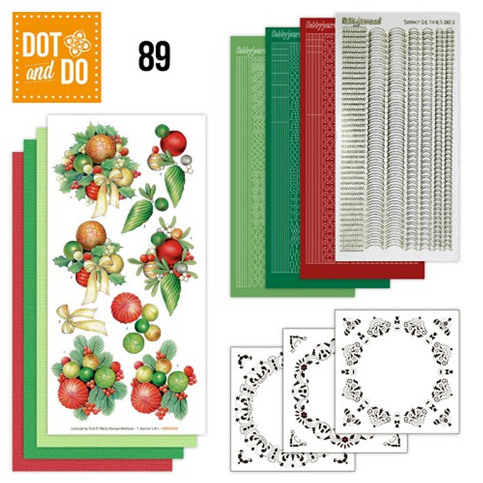 Dot and Do Kit #89 - Christmas Balls