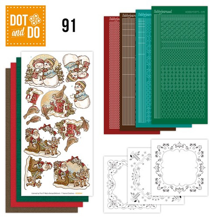 Dot and Do Kit #91 - Holly Jolly Mix