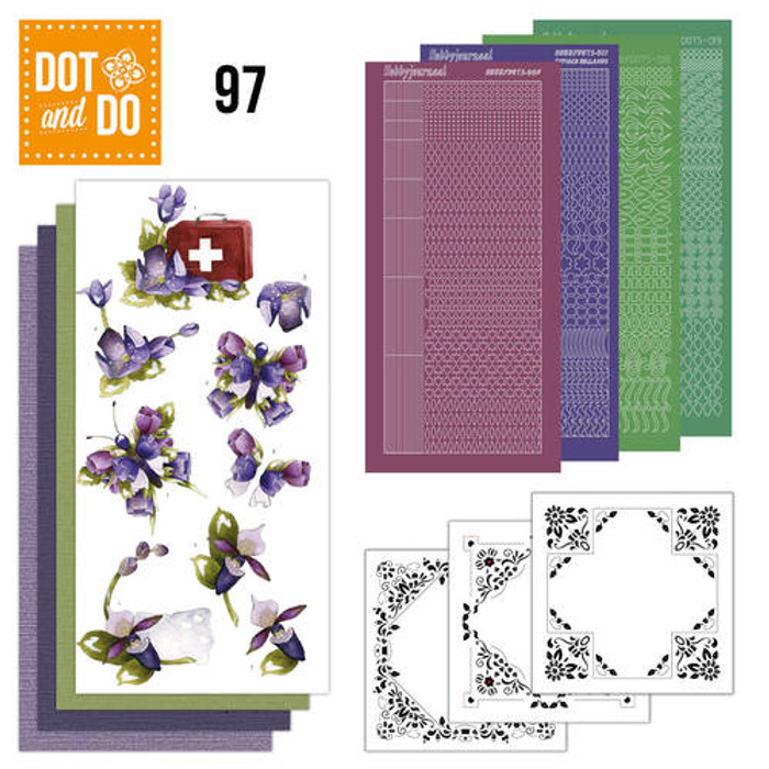 Dot and Do Kit #97 - Purple Flowers