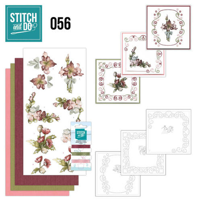 Stitch and Do Card Embroidery Kit 56