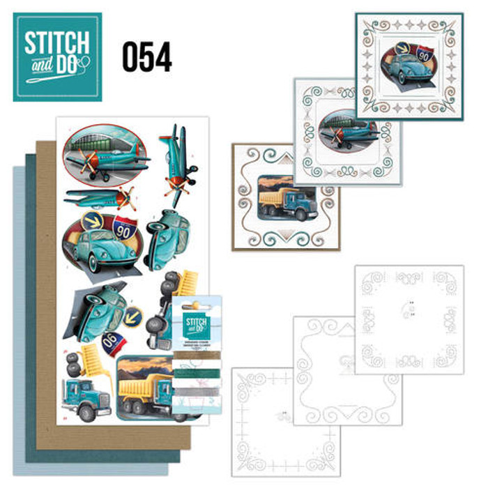 Stitch and Do Card Embroidery Kit 54