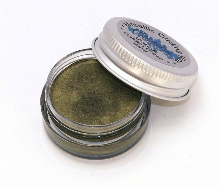 Creative Expressions Gilding Wax 10ml - VINTAGE GOLDEN GREEN