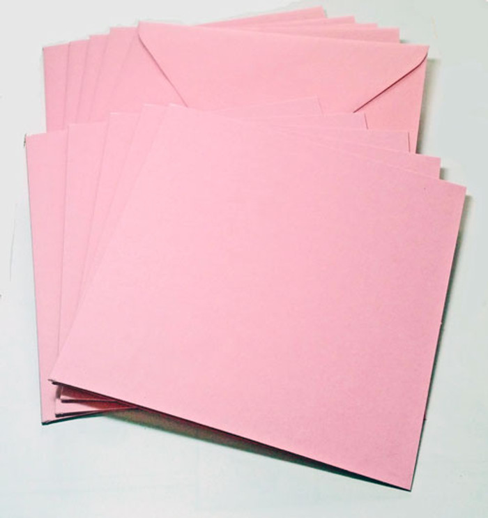 A7 Envelopes -  130mm x 185mm - FLAMINGO 20Pk 120gsm