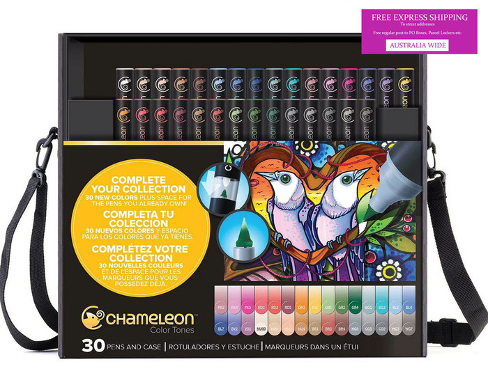 Chameleon Color Tones 30 Pen Set in Case (CT5301)