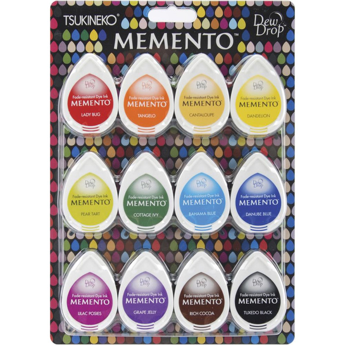 Memento Dew Drop Dye Ink Pads - Gum Drops