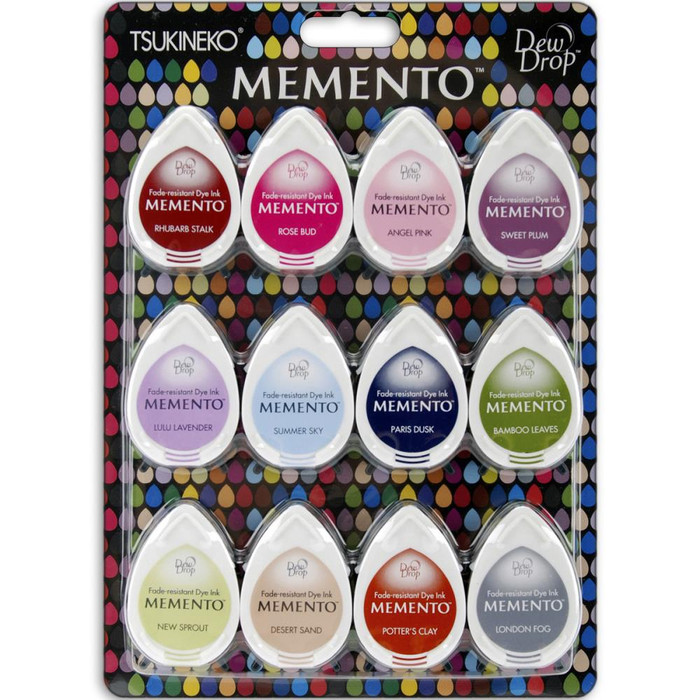 Memento Dew Drop Dye Ink Pads - Sorbet Scoops