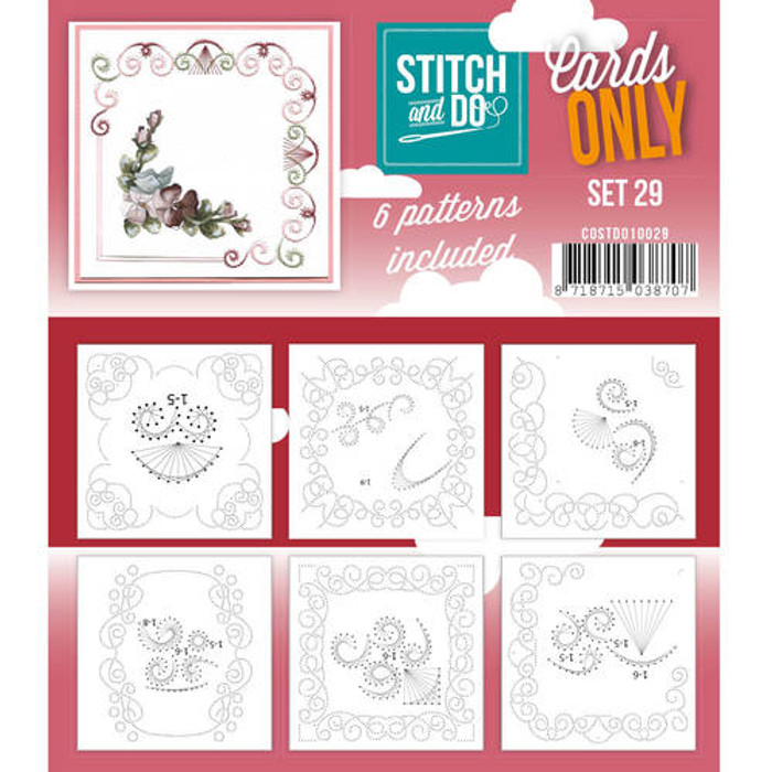 Stitch and Do Card Stitching Cardlayers Only - Set 29