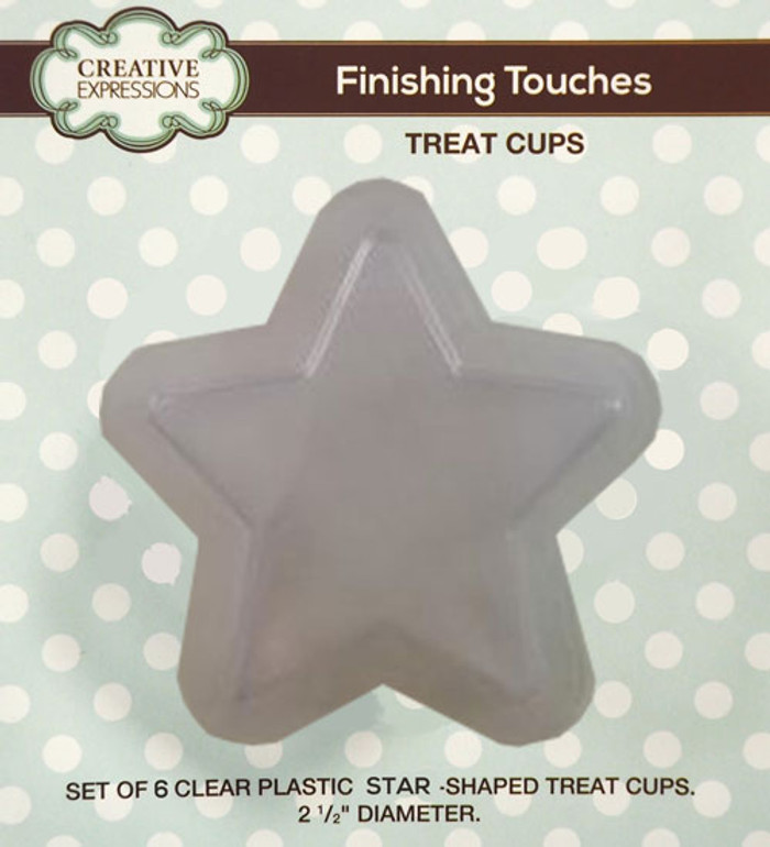 Sue Wilson Finishing Touches STAR Treat Cups Set of 5 CETREATSTAR