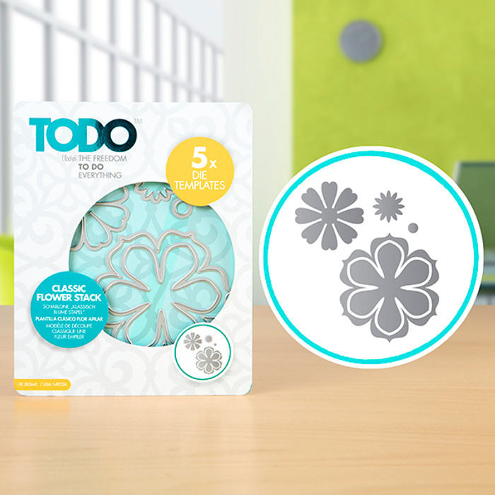 TODO Dies - Classic Flower Stack - Set of 5  CNCP0471